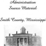 History of Smith County 1936 WPA Version with Surname Index
